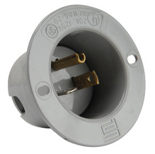 Flanged Inlet, Gray