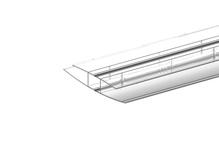 Splice- Panel- 3 in W X 9 ft L Qty 1
