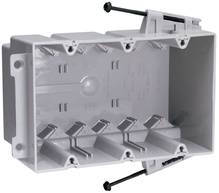 Screw Mount Steel Stud Box with Quick/Click