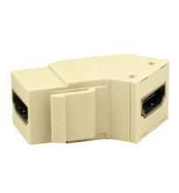 HDMI Keystone Insert/Coupler, Light Almond