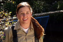 Carolyn Jacobson, veteran U.S. Army,  joined the 2015 NOAA/CCC Veterans Fisheries Corps.