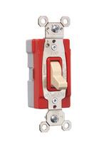 PlugTail® Single Pole 15 amp Toggle Switch, Ivory
