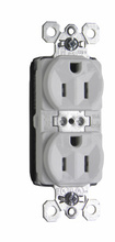 PlugTail® Tamper-Resistant Spec Grade Receptacles, 15A, 125V, White