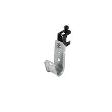 3/4'' JHook Wide/ret - screw on spring steel beam clp 1/2'' - Box of 50 [F000624]