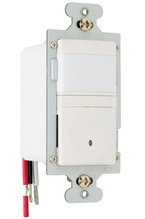 120V Single Pole/3-Way Occupancy/Vacancy Sensor, Manual Operation, Ivory