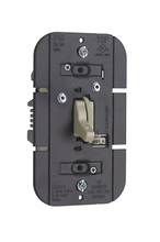 TradeMaster Magnetic Low-Voltage Toggle Dimmer, Ivory