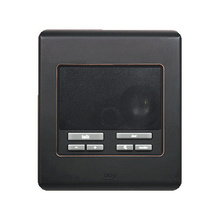 Selective Call Intercom Patio Unit, Oil Rubbed Bronze