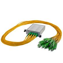 M4 2X32 POL SPLITTER- SC/APC CONNECTORS- 2M PIGTAILS