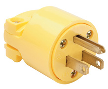 Medium-Duty Plug, Yellow