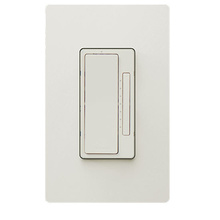 In-Wall 2-Wire Incandescent RF Dimmer, Light Almond