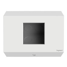 1-Gang Control Box (No Devices), White