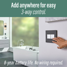 Coming Soon:  adorne Smart 15A Outlet Starter Kit with Gateway and Home Away Wireless Smart Switch with Netatmo Graphite