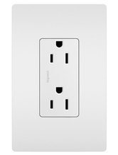 radiant® Self-Grounding Tamper-Resistant Outlet