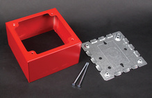 500/700 Extra Deep Alarm Device Box Fitting