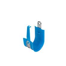 2'' Basic Blue Plastic Coated J-Hook w/ Latch Box of 25 [F000674]
