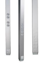 25DTP-E10 - 25DTP Series Steel Tele-Power Pole (Ivory)