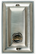 Dustproof Locking Stainless Steel Cover