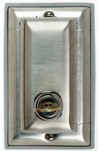 Dustproof Locking Stainless Steel Cover
