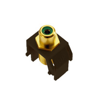 Green RCA to F-Connector, Brown