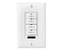 DLM Low Voltage 4-Button Shade Wall Switch