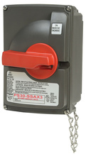 Non-Fusible Safety Switch with 3 Auxiliary Contacts, 30 Amps