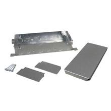 Omnibox® Series Triple Gang Shallow Steel Floor Box