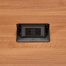Field Wired deQuorum Single Flip Up Unit with USB