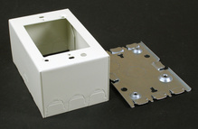 500/700 Single-Gang Deep Switch and Receptacle Box Fitting