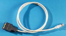 Clarity 5E 110/Mod 8 Patch Cord, Category 5e, 3'