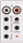 Discontinued | lyriQ Flush Mount Single Source Input, White