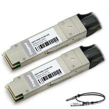 Cisco® QSFP-H40G-CU1M Compatible 40GBase-CU QSFP+ to QSFP+ Passive Direct Attach Cable