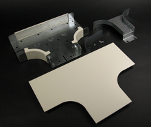 4000 Radiused Full Capacity Divided Tee Fitting