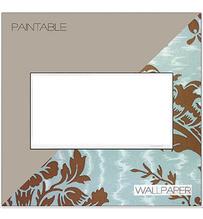 adorne® Custom Two-Gang Screwless Wall Plate - White Trim