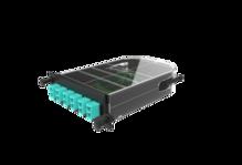 Infinium Quantum M4 Splice Cassette, 12F, LC Duplex, OM4, Ribbon