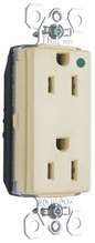 PlugTail®Tamper-Resistant Hospital Grade Receptacle, 15A, 125V, White