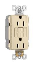 PlugTail® Spec-Grade Tamper-Resistant 15A Self-Test Duplex GFCI, Ivory