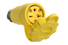 20A, 250V Watertight Connector, Yellow