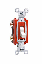 Commerical Specification Grade Switch, White