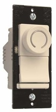 Deco Rotary CFL/LED Dimmer, Light Almond