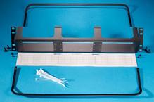 2U Fiber Patch Panel for raised floor installation within floor box