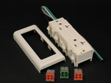 2400 20A Duplex Receptacle Fitting