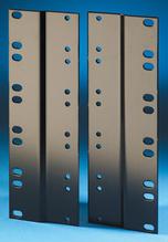 Rack Adapter Kit - 19 to 23 in - 10.5 in H - 5 rack units - - black
