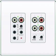 Discontinued | lyriQ Flush Mount Triple Source Input, White
