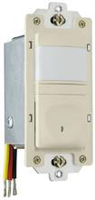 120V Incandescent Single Pole Vacancy Sensor, Ivory