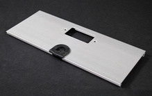 AL5200 Large Multi-Channel Raceway GFCI and Mouse Hole Device Cover Plate