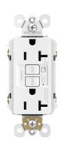 Spec-Grade Audible Alarm Tamper-Resistant 20A Self-Test Duplex GFCI, White