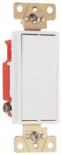 Specification Grade Decorator Switch, White