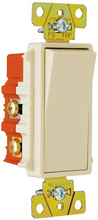 Specification Grade Decorator Switch, Ivory