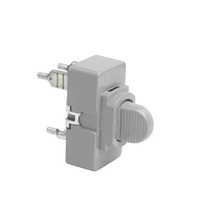 Momentary Contact Switch, Gray