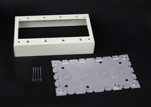 500/700 Four-Gang Switch and Receptacle Box Fitting